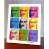 Jesus Kornkreise im Warhol-Design